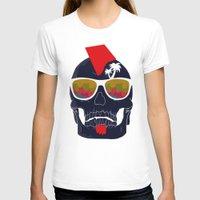 bones T-shirts featuring Bones by  Steve Wade ( Swade)
