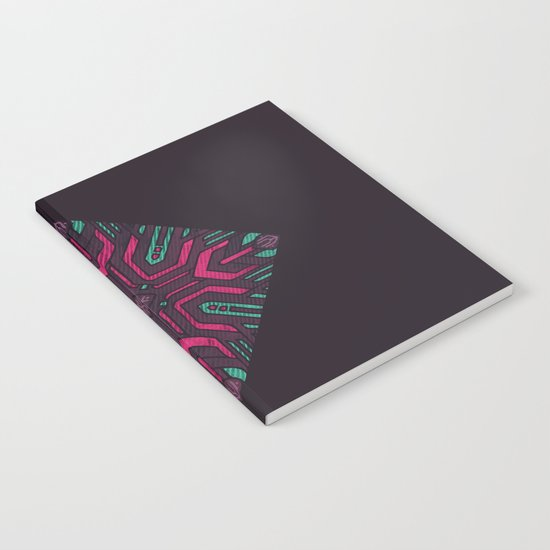 Neon Diamond Notebook
