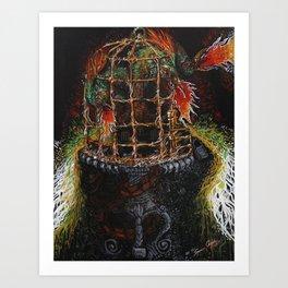 Wings of Gossip Art Print