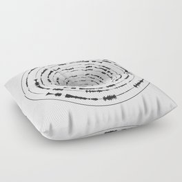 I Wouldn't Normally Do This Type Of Thing (the Rite of Spring) Floor Pillow