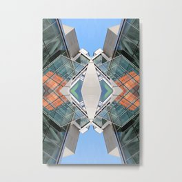 SLQ 0812 (Symmetry Series III) Metal Print