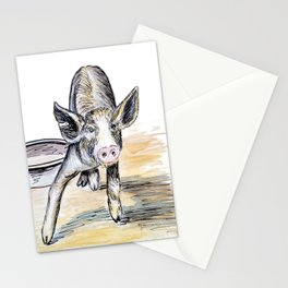 Lunch Any Time Soon? Stationery Cards