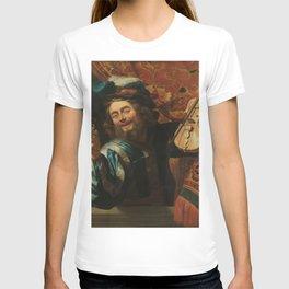 renaissance art, man with the violin T-shirt