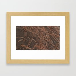 granite Framed Art Print