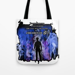 Police Tribute Tote Bag