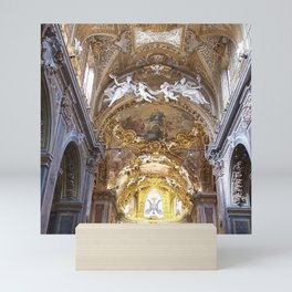 Santa Maria dell'Orto Church, Rome, Italy Mini Art Print