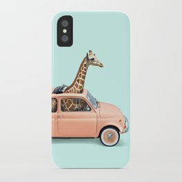 GIRAFFE CAR iPhone Case