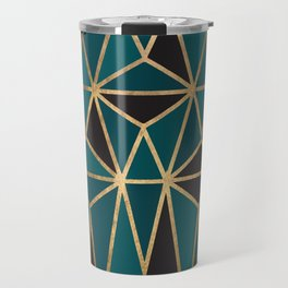 Living In Another Teal World Travel Mug