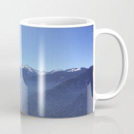 Snowy Sierra Nevada Mountains in California (US) Coffee Mug