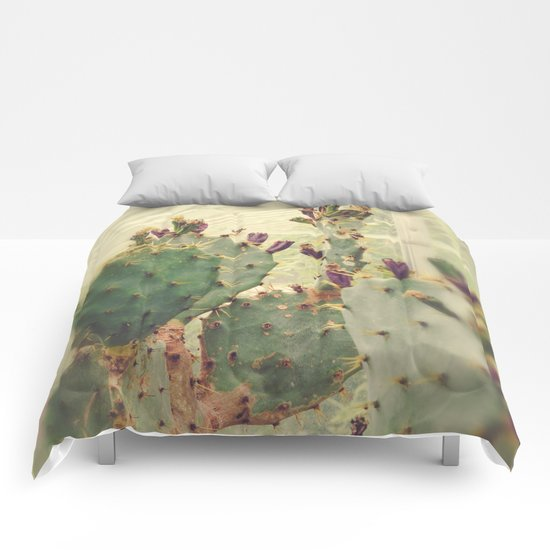 Glass House Cactus Comforters