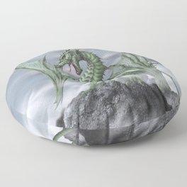 Misty Mountain Floor Pillow