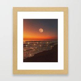 Believe in your dreams Framed Art Print