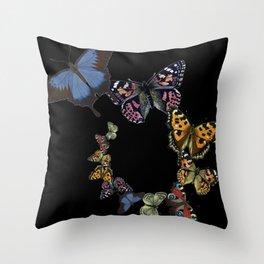 Flutter By Throw Pillow
