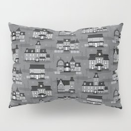 Haunted Houses Pillow Sham