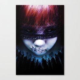 Leave A Scar Canvas Print