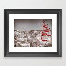 Amman City Framed Art Print