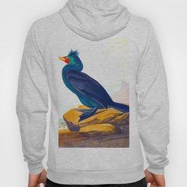 Double Crested Cormorant Bird Hoody