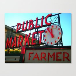 Pike Place Canvas Print