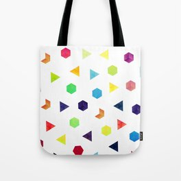 Random Geometry Tote Bag