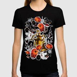 Halloween Spooky Cartoon Saga T-shirt