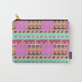 Candy Plaid Carry-All Pouch