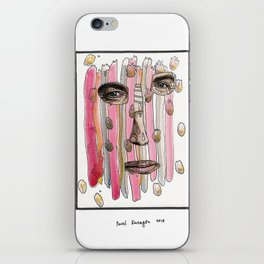 Surreal portrait 40 iPhone Skin