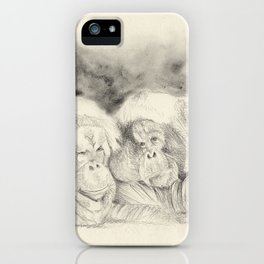 happy couple  iPhone Case
