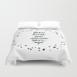 Four Score and Seven Years Ago Duvet Cover