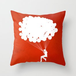 Suspension Throw Pillow