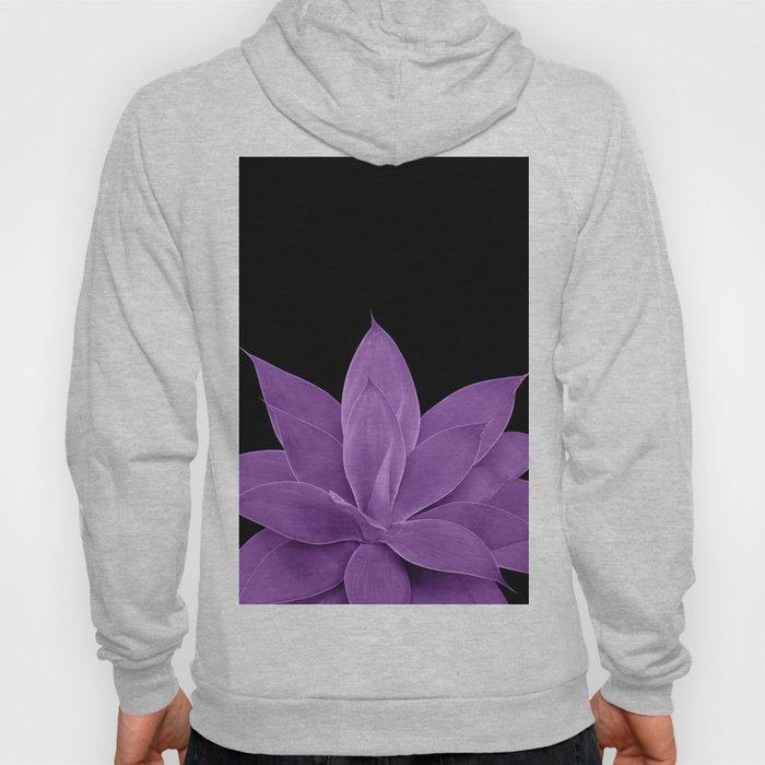 Purple Agave #1 #tropical #decor #art #society6 Hoody
