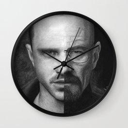 Jesse White/Walter Pinkman Wall Clock