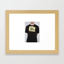 The Stupid Stoner Ideology    Framed Art Print