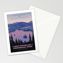 Mont-Tremblant Provincial Park Stationery Cards