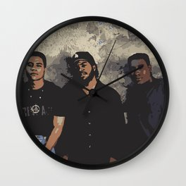Boyz N The Hood Wall Clock