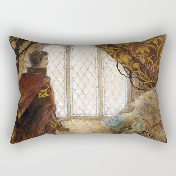 The Sleeping Beauty Rectangular Pillow