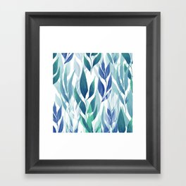 Leafage #02 Framed Art Print