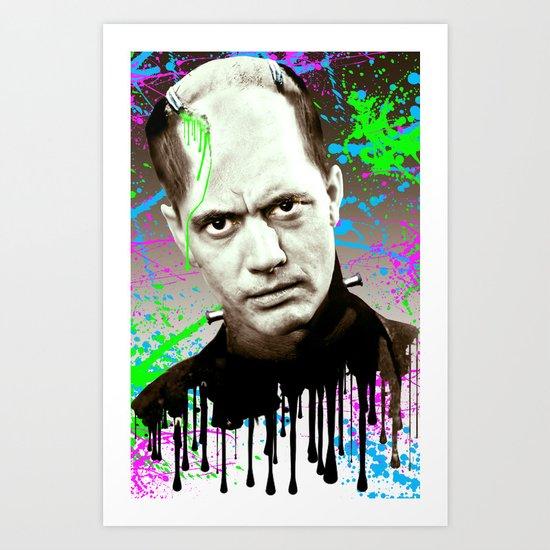 Frankenstein's monster, Jason Wing. Art Print