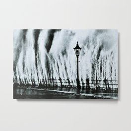Waves of the Great New England Category Five Hurricane of 1938 Metal Print