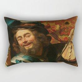 """Gerard van Honthorst """"The Merry Fiddler"""" Rectangular Pillow"""