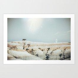 Gorgina Art Print
