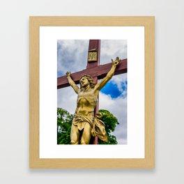 Crucifixion of Jesus Framed Art Print