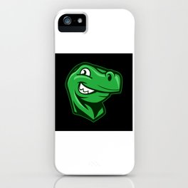 Online Logo Stegosaurus Dino Dinosaur Gift iPhone Case