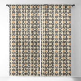 African Echo Sheer Curtain