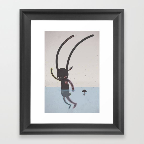 IT'S ALRIGHT I'M OK... Framed Art Print