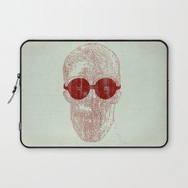 Unravel skull Laptop Sleeve