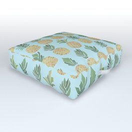 The Pineapple Show Outdoor Floor Cushion