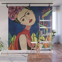 Frida Khalo Painting Wall Mural