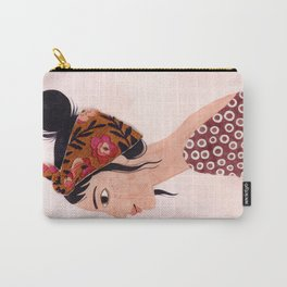 Embroidered scarf Carry-All Pouch