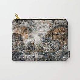 City-Art AMSTERDAM Bicycles Carry-All Pouch