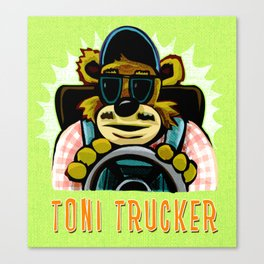 tony trucker Canvas Print